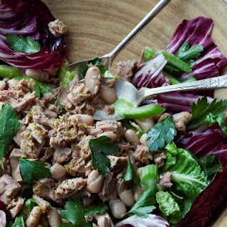 Tuna and White Bean Salad with Radicchio