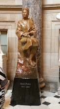 Photo: Rosa Parks, 1913-2005.  Commissioned by Congress and dedicated February 4, 2013 - her 100th birthday - http://www.aoc.gov/capitol-hill/other-statues/rosa-parks