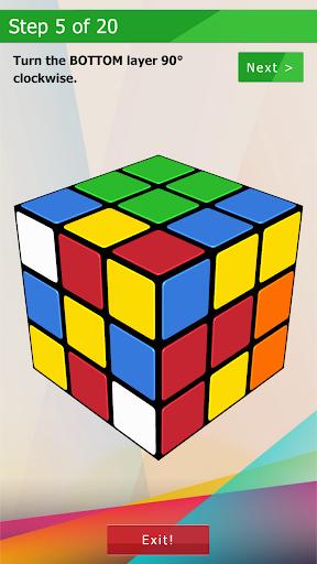 3D-Cube Solver 1.0.2 screenshots 6