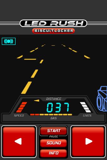 玩免費賽車遊戲APP 下載LED Rush app不用錢 硬是要APP