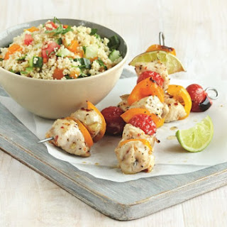 Piri Piri Chicken Skewers with Couscous Salad Recipe