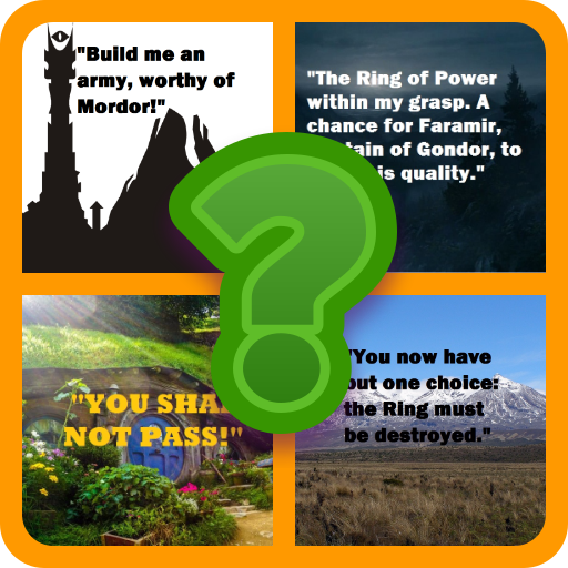 Quiz Lord of the Rings Quotes (game)