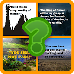 Quiz Lord of the Rings Quotes Icon