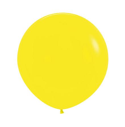 Ballong, jumbo gul 90 cm 1 st