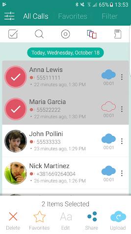 Call Recorder S9 - Automatic Call Recorder Pro Screenshot