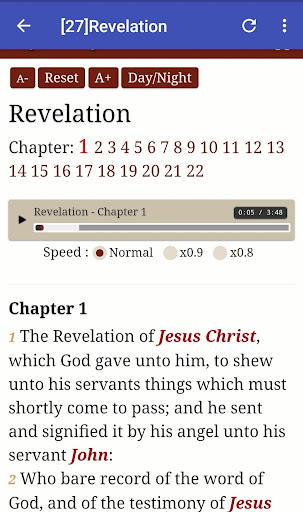 King James Audio - KJV Bible Free 3.6.1 screenshots 5