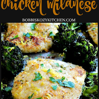 Sheet Pan Chicken Milanese Recipe