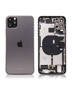 iPhone 11 Pro Max Housing with small parts Original Pulled Space Gray