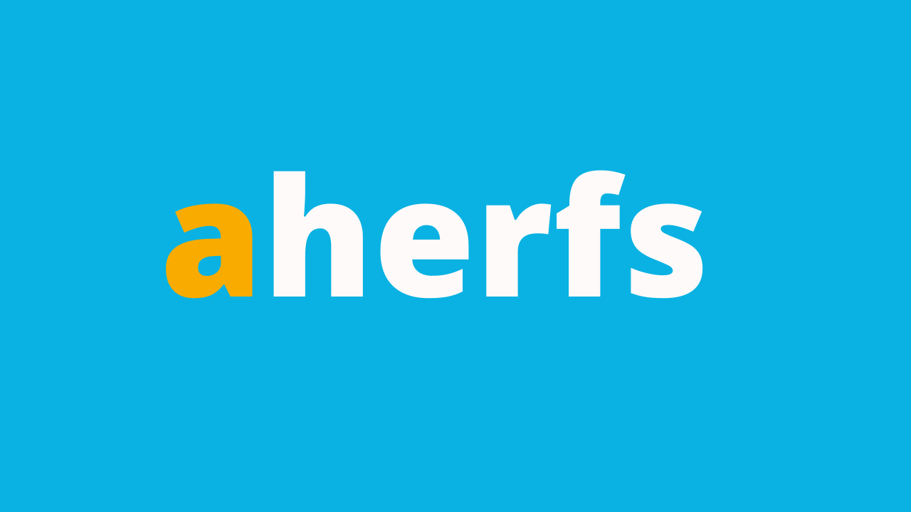 This image show the logo of ahrefs