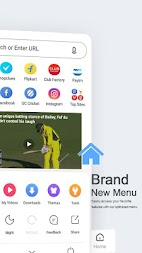 UC Browser Mini – Video Status & Video Downloader APK screenshot thumbnail 2