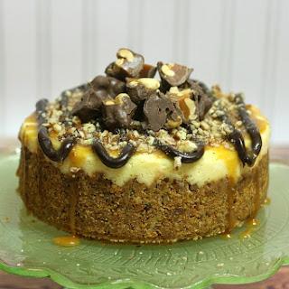 Crock pot Turtle Cheesecake.