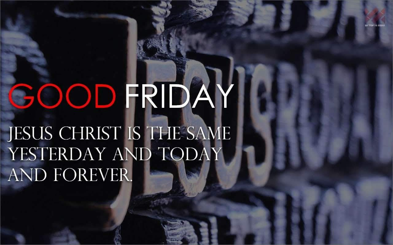 good friday 2018 message #5