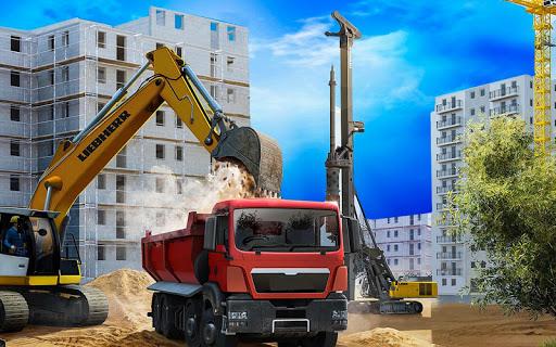 Construction City 2019: Building Simulator android2mod screenshots 10