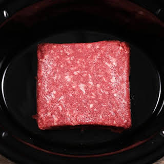 Slow Cooker Beef, Potato, And Green Bean Casserole.