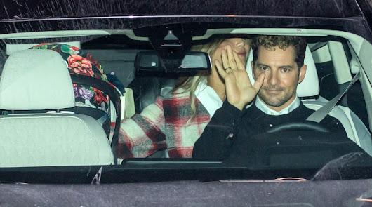 David Bisbal y Rosanna Zanetti vuelven a casa con su pequeña Bianca