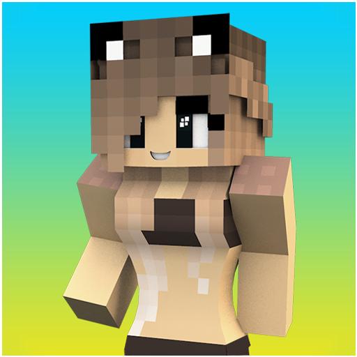 Swimsuit Girl Skins for Minecraft