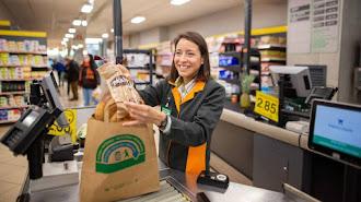 Mercadona dice adiós a las bolsas de plástico.