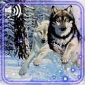 Winter Snow Wolf icon