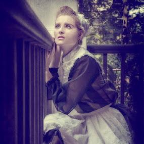 Victorian Servant by Jason Dela Cruz - People Portraits of Women ( vintage )