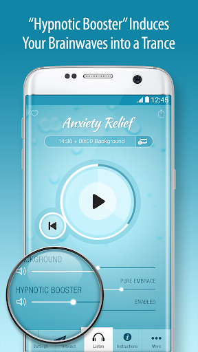 End Anxiety Hypnosis - Stress, Panic Attack Help Screenshot