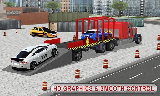 Truck Car Transport Trailer Games 1.5 screenshots 5