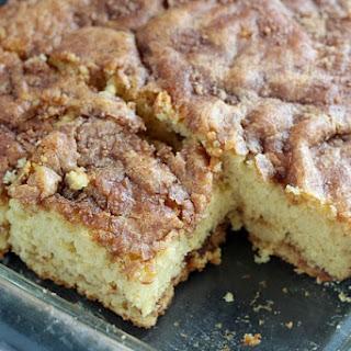 Cinnamon & Cider Coffee Cake Recipe