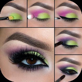 Step By Step Eyes Makeup