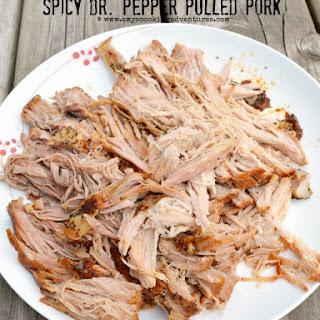 Crockpot Spicy Dr. Pepper Pulled Pork.