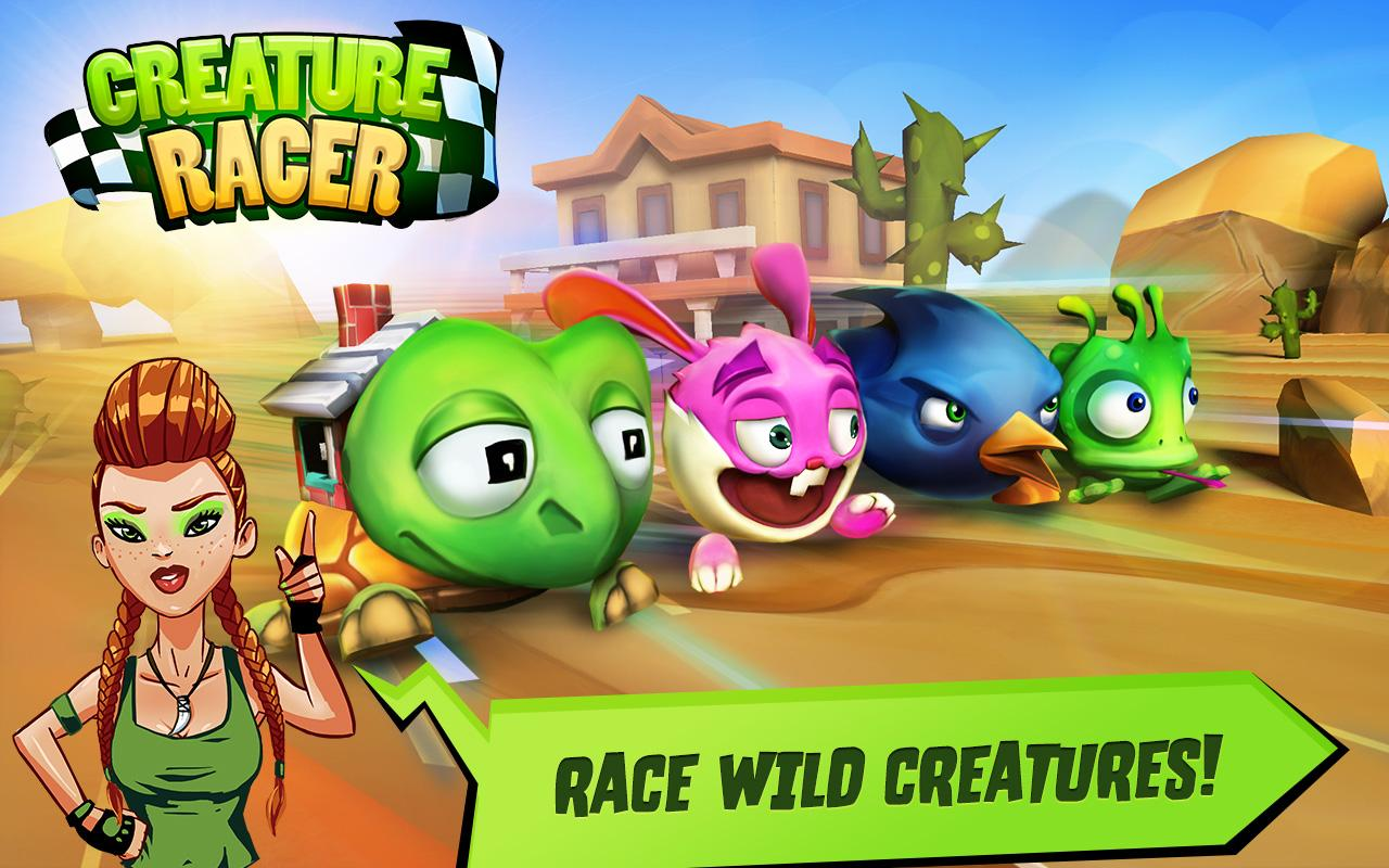 creature racer android apps on google play