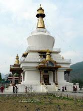 Photo: Die Memorial Stupa gehört zum Programm ist aber nicht besonders eindrucksvoll
