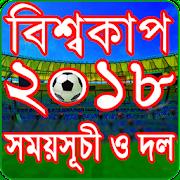 বিশ্বকাপ ফুটবল ২০১৮ সময়সূচি