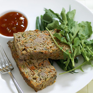 Lamb and Vegetable Meatloaf.