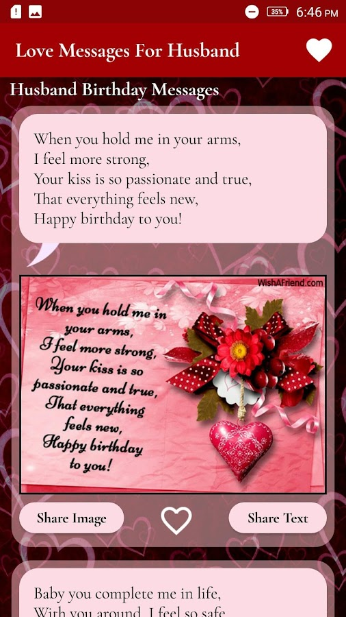 Love Messages For Husband - Romantic Images - Android Apps on ...