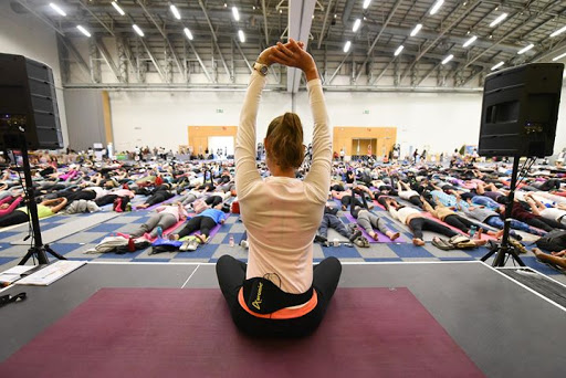 International Day of Yoga 2018 Cape Town : Cape Town International Convention Centre (CTICC)