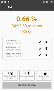 AM - AlcoholManager - náhled