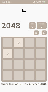 Download 2048 For PC Windows and Mac apk screenshot 2