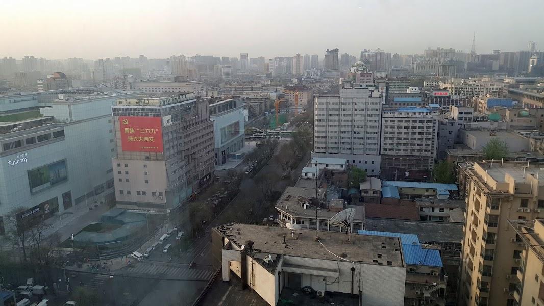 """Мой китайский """"треугольник"""" (Шанхай-Сиань-Пекин). Март 2018."""