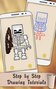 Draw Lego Minecraft Figures - náhled