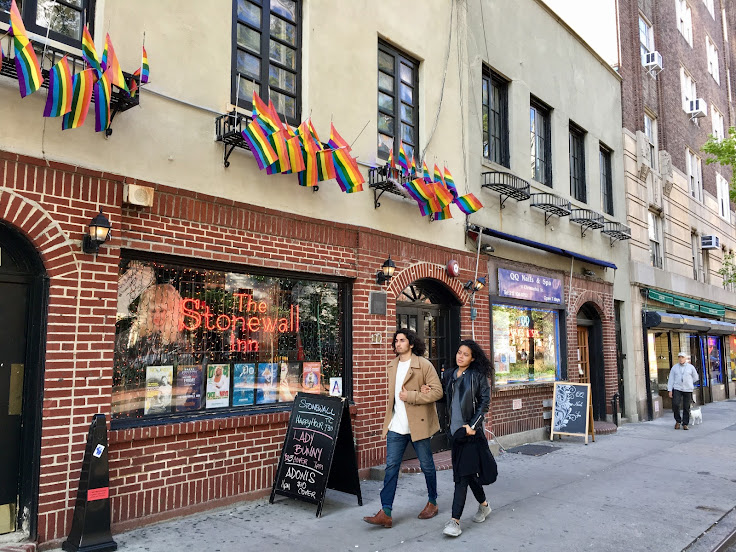 The exterior of Stonewall.