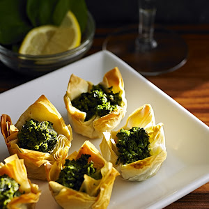 Spinach Feta Tartlets