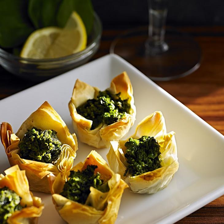 Spinach Feta Tartlets Recipe