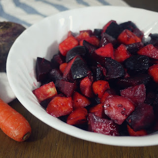 ROASTED BEETS & YAMS & CARROTS