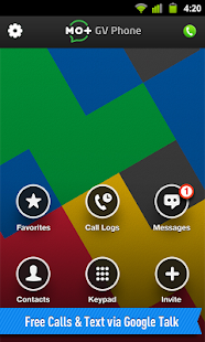 PHONE for Google Voice & GTalk- screenshot thumbnail