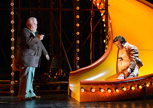 Photo: Wien/ Burgtheater: LILIOM von Franz Molnár. Inszenierung Barbara Frey, Premiere 6.4.2013.  Nicholas Ofczarek.  Foto: Barbara Zeininger