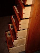 Photo: Curvy Dresser - Dovetail Drawers