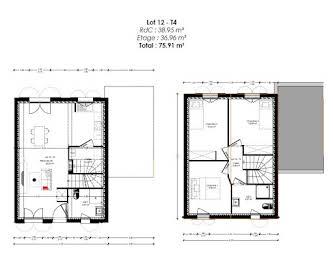 Terrain à bâtir 212 m2