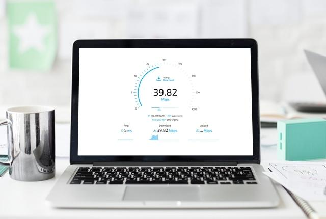 Speedtest.co.za: Desktop.