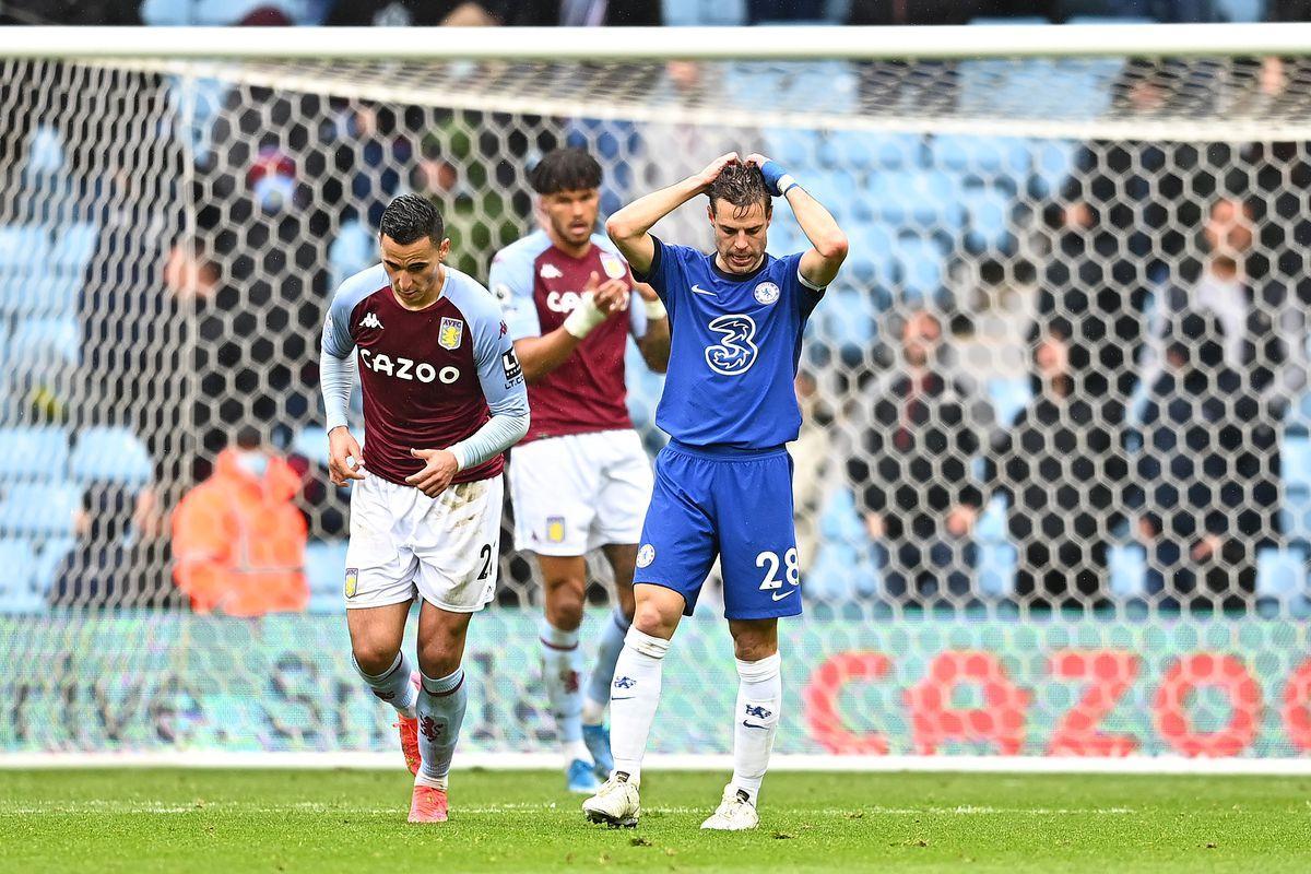 Ở lần đối đầu gần nhất, Chelsea đã thất bại trước Aston Villa