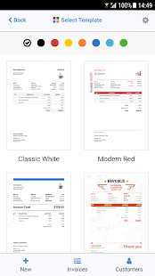Free Invoice PDF Templates Apps On Google Play - Invoice pdf template