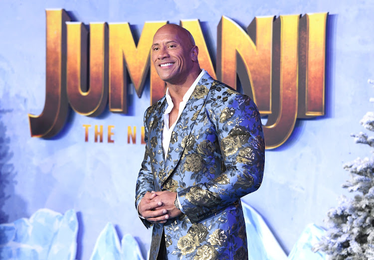 Actor Dwayne Johnson says he'd consider running for president if people want that.